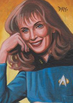 David Day Sketch - Beverly Crusher