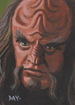 David Day Sketch - Gowron
