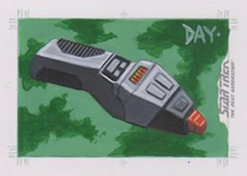 David Day Sketch - Starfleet Phaser
