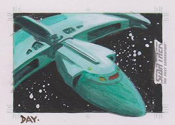 David Day Sketch - Romulan Scout