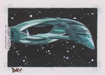 David Day Sketch - Romulan Warbird