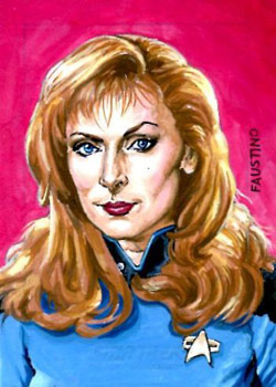 Norman Faustino Sketch - Beverly Crusher