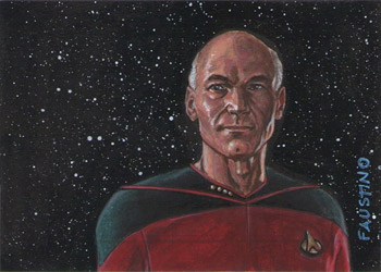 Norman Faustino Sketch - Jean-Luc Picard