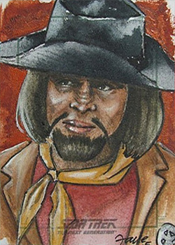 Connie Faye Sketch - Worf