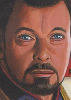 David Day Sketch - William Riker