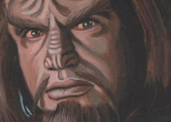 David Day Sketch - Worf