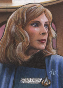 Javier Gonzalez Sketch - Beverly Crusher