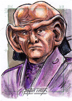 Daniel Gorman Sketch - Ferengi