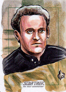 Daniel Gorman Sketch - Miles O'Brien