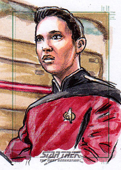 Daniel Gorman Sketch - Wesley Crusher