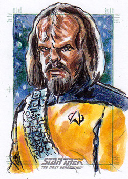 Daniel Gorman Sketch - Worf
