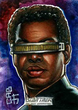 James Hiralez Sketch - Geordi La Forge