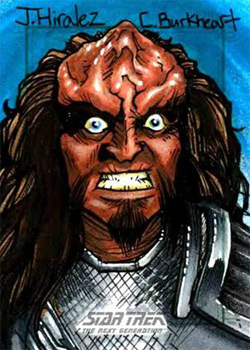 James Hiralez Sketch - Gowron