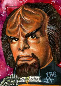 James Hiralez Sketch - Worf