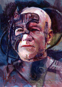 Charles Hall Sketch - Locutus