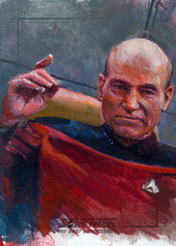 Charles Hall Sketch - Jean-Luc Picard