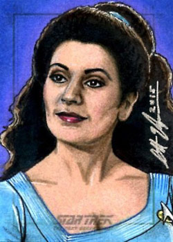 Scott Houseman Sketch - Deanna Troi