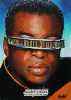 Gavin Hunt Sketch - Geordi La Forge