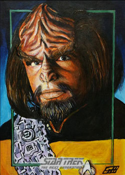 Gavin Hunt Sketch - Worf
