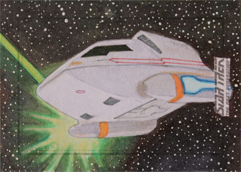 Seth Ismart Sketch - Type-6 Shuttlecraft