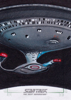 Michael James Sketch - USS Enterprise NCC-1701-D