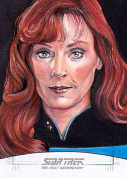 Michael James Sketch - Dr. Beverly Crusher