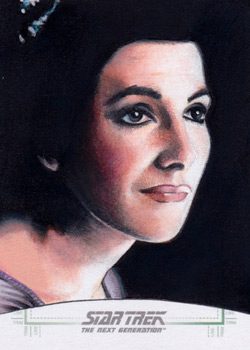 Michael James Sketch - Deanna Troi