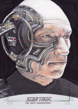 Michael James Sketch - Locutus
