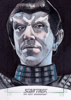 Michael James Sketch - Romulan