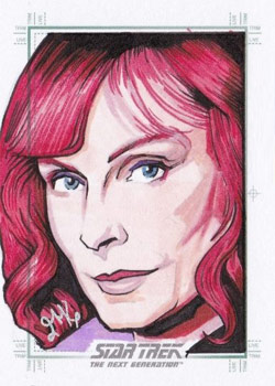 Jason Kemp Sketch - Beverly Crusher