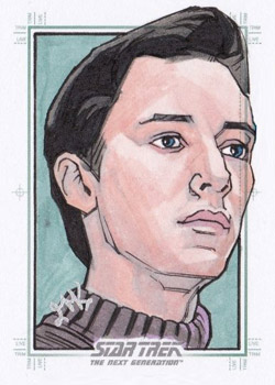 Jason Kemp Sketch - Wesley Crusher