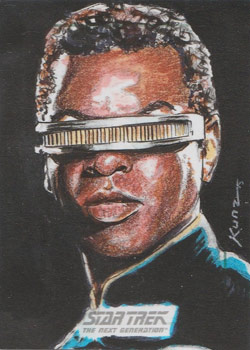Richard Kunz - Geordi La Forge