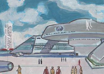 Lee Lightfoot Sketch - Starfleet Headquarters