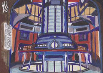 Lee Lightfoot Sketch - 1701-D Warp Core