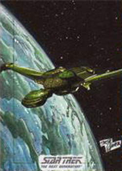 Tirso Llaneta Sketch - Klingon Bird of Prey