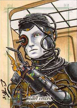 Eric McConnell Sketch - Borg Drone