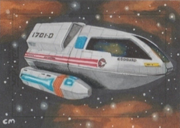Chris Meeks Sketch - Type-6 Shuttlecraft