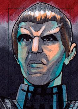 Rich Molinelli Sketch - Romulan