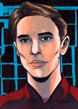 Rich Molinelli Sketch - Wesley Crusher