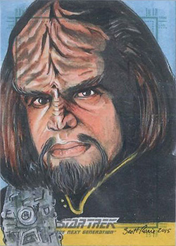 Scott Rorie Sketch - Worf
