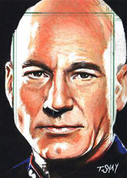 Tim Shay Sketch - Picard