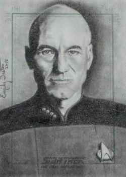 Emily Tester Sketch - Jean-Luc Picard