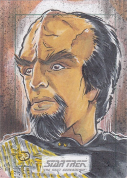 Judit Tondora Sketch - Worf