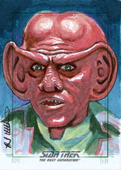 Brad Utterstrom Sketch - Quark