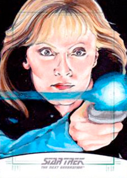 Michael James Sketch - Beverly Crusher