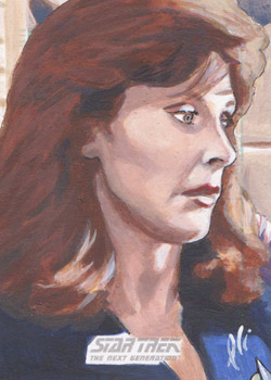 Lee Lightfoot Sketch - Beverly Crusher #1
