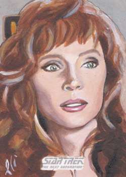 Lee Lightfoot Sketch - Beverly Crusher #2
