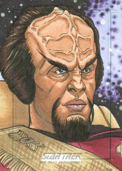 Nathan Nelson Sketch - Worf