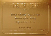 Gold Card G6 - The Man trap