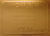 Gold Card G8 - Charlie X